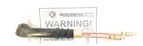 20F Weldmark By CK World Wide #20 Torch Body Only 250 Amp W/Flex Head (HW20)