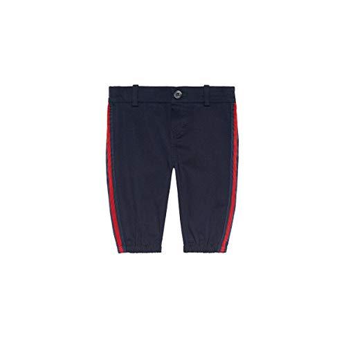 Luxury Fashion | Gucci Baby-jongens 573996XWAEW4265 Donkerblauw Elasthaan Broeken | Herfst-winter 19