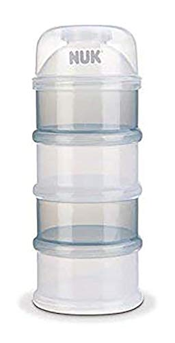 Nuk - 710393 - Scatola per latte in polvere, Colori assortiti