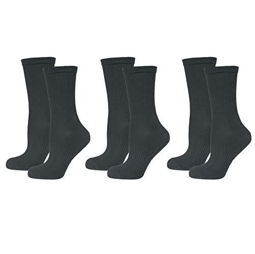 Safersox Sportsocken - Mückenschutz-Socken - in vielen, 35/38, 3er Vorteilspack Dunkelgrün