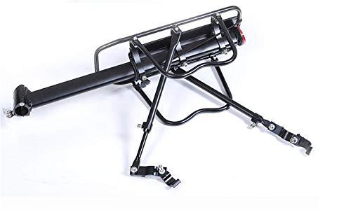 Tininna Porte-vélo réglable en alliage d'aluminium Noir