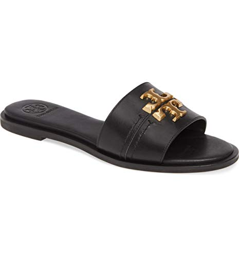 Tory Burch Everly Slide Sandal, Perfect Black (7)