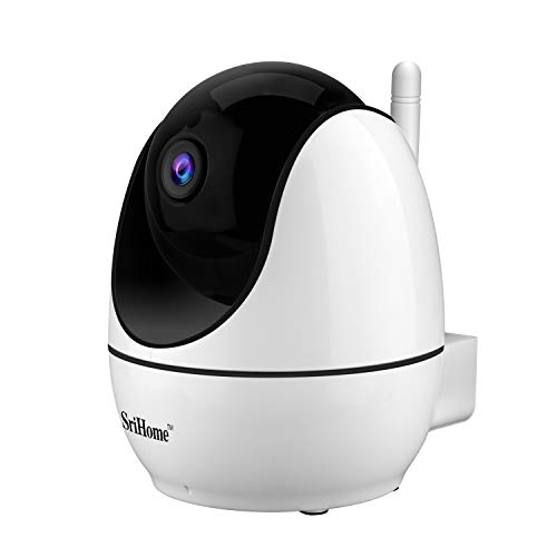 Sricam SH026 WiFi-Kamera, IP-Kamera, kabellos, 2,0 Megapixel, HD, IR, Cut, ONVIF, P2P, unterstützt SD-Audio, Motorisiert.