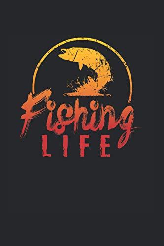 Fishing Life | Angeln Abenteuertagebücher: Notizbuch A5 120 Seiten liniert