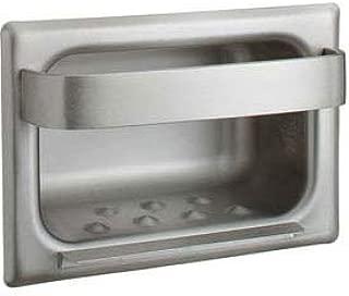 Bobrick Recessed Heavy-Duty Soap Dish & Bar