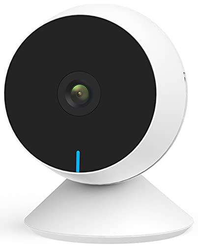 Laxihub Babykamera Überwachungskamera Innen WLAN Babyphone mit Kamera, M1 IP Kamera 1080P FHD Nachtsicht Sicherheitskamera für Haustier, 2-Wege-Audio, Bewegungs- und Geräuscherkennung, 1PC
