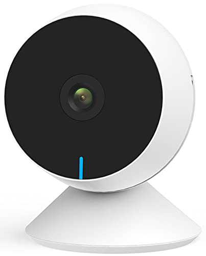 WiFi Baby Monitor, M1 Indoor Security Camera Two-Way Audio and Video, Night...