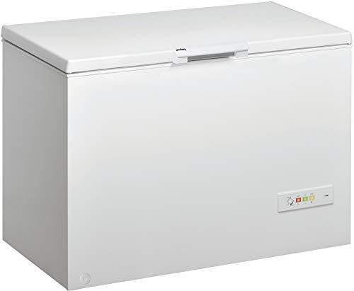 Privileg PFH 606 Gefriertruhe / Nutzinhalt 312 L / Cool or Freeze / Supergefrierfunktion / Door Balance/ Innenbeleuchtung / Kindersicherung