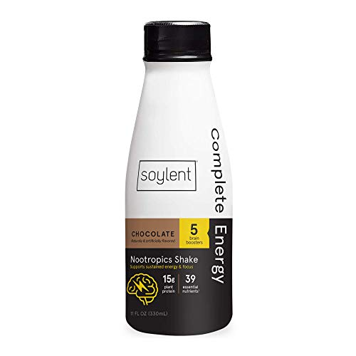 Soylent Complete Energy Nootropics Shake | Amazon