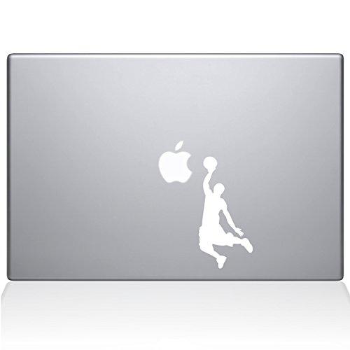 "Adesivo de vinil The Decal Guru Slam Dunk MacBook - MacBook de 12"" - Branco (1173-MAC-12M-W)"