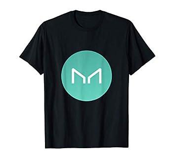 Maker Logo   The Maker Crypto and MKR Crypto Logo T-Shirt