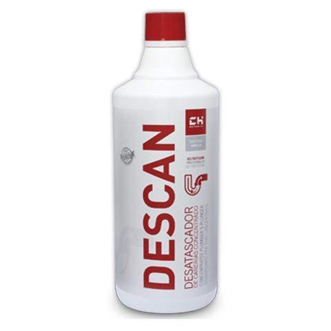 DOJA Industrial | Desatascador cañerias concentrado DESCAN 1 litro ESTANDAR Desatascadores