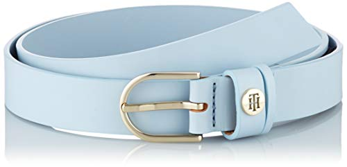 Tommy Hilfiger Damen Classic Belt 2.5 Gürtel, Blau (Breezy Blue 0yh), 90 cm