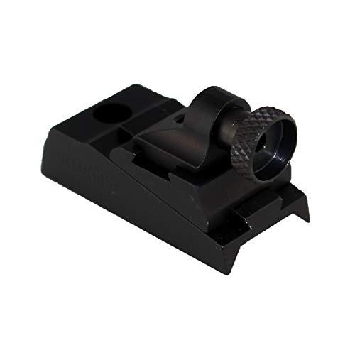Williams WGRS Octagon Barrel or Receiver Peep Sight, Black - 44737