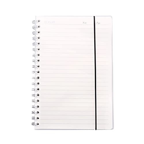 WPBOY Diario del Estudiante Cuaderno Creativo Cuaderno De Oficina Escolar Portátil Multifuncional Simple(80 Hojas/160 Páginas) (Color : Horizontal Line Inside Page, tamaño : A5)