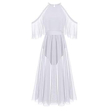 white flowy tank dress