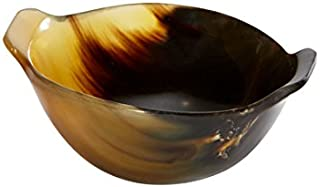 Wentworth Pewter - Small Horn Quaich Whisky Tasting Bowl Loving Cup Burns Night