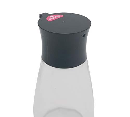 Excelity Cruet Dispenser Set for Olive Oil Vinegar Soy Sauce with Elegant Glass Bottle Kitchen Cooking Barbecue Tool