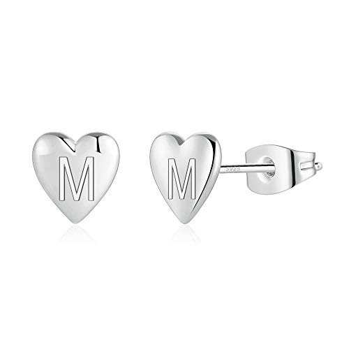 (65% OFF) Sterling Silver Initial Stud Earrings $4.90 – Coupon Code
