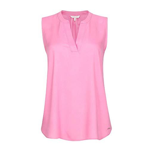 TOM TAILOR Denim Damen Top Tunika-Shirt, 21347-wild Orchid pink, M