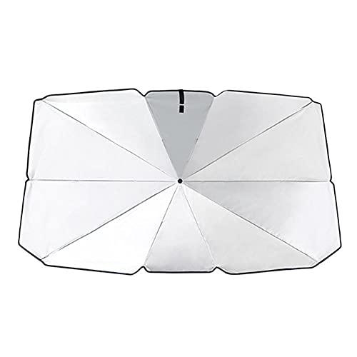 CksEKD Protector de Parasol para Coche, Parasol, Parasol para Ventana Delantera, Cubre protección para Parabrisas Interior del Coche