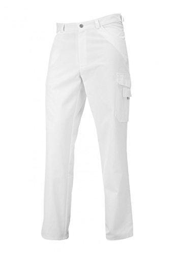 BP 1641-558-21-Sn Unisex-Jeans, Jeans-Stil mit mehreren Taschen, 245,00 g/m² Stoffmischung, weiß ,Sn