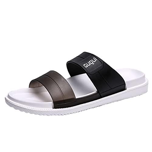 Luckycat Zapatillas de Estar por Casa de Mujer Chanclas Y Sandalias de Piscina Los Nuevos Zapatos de Playa para La Piscina de La Moda de Verano Usan Zapatillas Planas con Antideslizantes