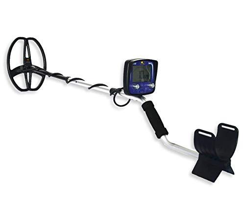 Drohneks Leichter Metalldetektor, wasserdichte Sonde für den Außenbereich Hochpräziser unterirdischer archäologischer Schatzsucher-Detektor mit LCD-Display