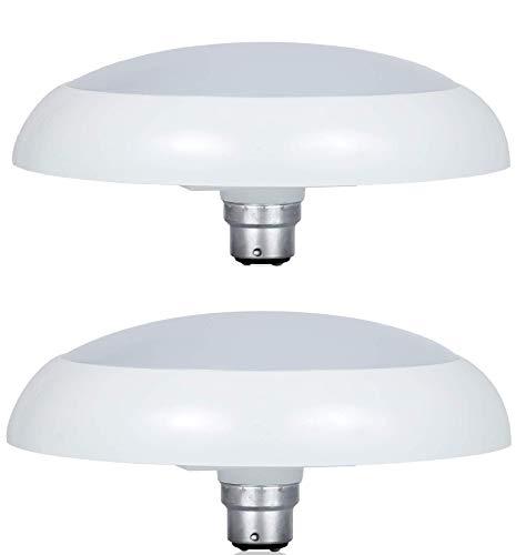 Philips Deco Ring 14 Watt LED Bulb, Base B22 (Cool Day Light, Pack of 2)