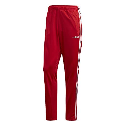 adidas Herren E 3S T PNT TRIC Sport Trousers, Scarlet/White, M