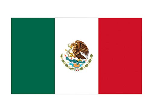 Rogue River Tactical Mexico Mexican Flag Car Decal Window Bumper Sticker Country (3x5)
