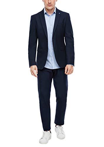 s.Oliver Herren 02.899.84.4393 Anzug, Blau (Navy Blue 5978), (Herstellergröße: 50)