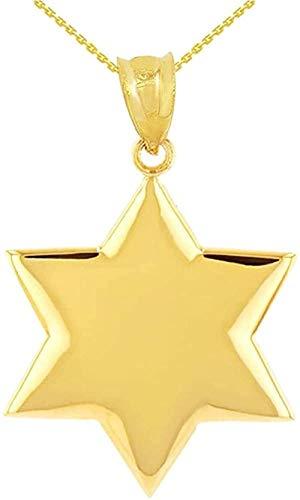 NC122 Pendant necklace 14 ct Golden Star Pendant