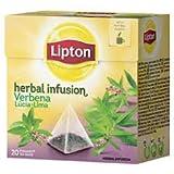 Lipton–Infusion Verbena–20bolsitas pirámide individuales x 6Paquetes = 120bolsas