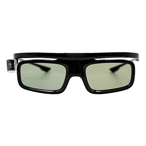 3D Active Shutter Glasses, DLP Link 3D Glasses 144Hz Rechargeable Active Shutter Eyewear for Most DLP-Link 3D Projectors- Aces, ViewSonic, BenQ Vivitek, Optoma 170 x 160 x 50mm
