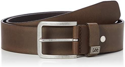 Lee Small Logo Belt Cinturón, Marrón (Dark Brown 24), 85 para Hombre