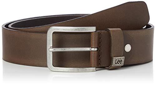 Lee Small Logo Belt Cinturón, Marrón (Dark Brown 24), 110 para Hombre