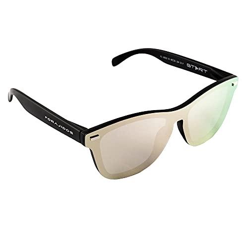 FORAJIDOS Gafas de Sol Polarizadas con Protección UV400 (ROSA)