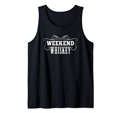 Weekend Whiskey Cool Whisky Lovers Tank Top