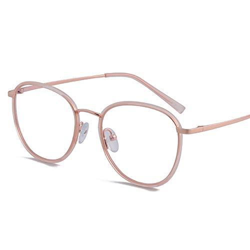 Bias&Belief Gafas de Bloqueo de luz Azul Gafas para Juegos de computadora Marco de anteojos Transparente Gafas Anti-Fatiga Ocular para Mujeres y Hombres,B