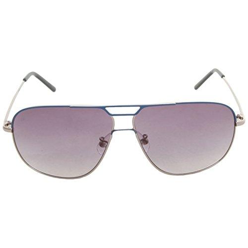 Calvin Klein - Gafas de sol - Gafas de sol - para hombre Azul metálico 60-11-135
