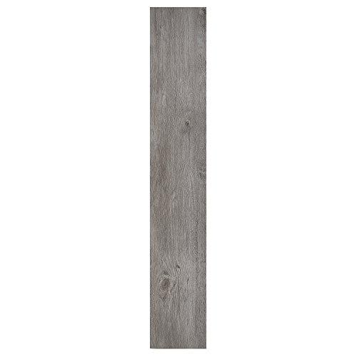 Achim Home Furnishings Achig VFP1.2GO10 Nexus 1.2Mm Vinyl Floor Planks, 6 Inches x 36 Inches, Light Grey Oak, 10 Count