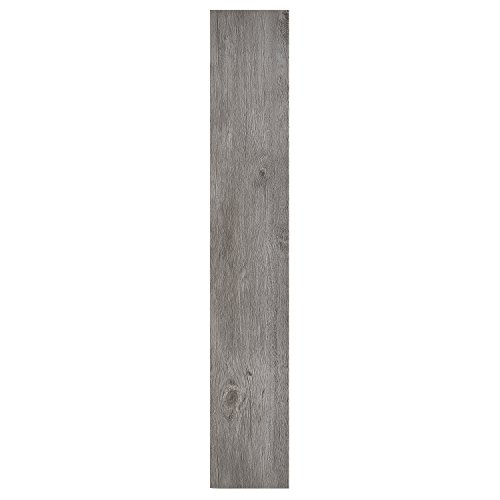 Achim Home Furnishings Achig VFP1.2GO10 Nexus 1.2Mm Vinyl Floor Planks, 6 Inches x 36 Inches, Light Grey Oak, 10 Count