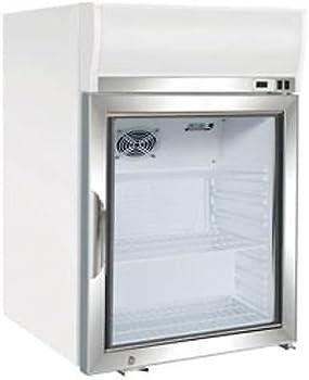 Maxx Cold MXM1-4F Countertop Glass Door Merchandiser Freezer