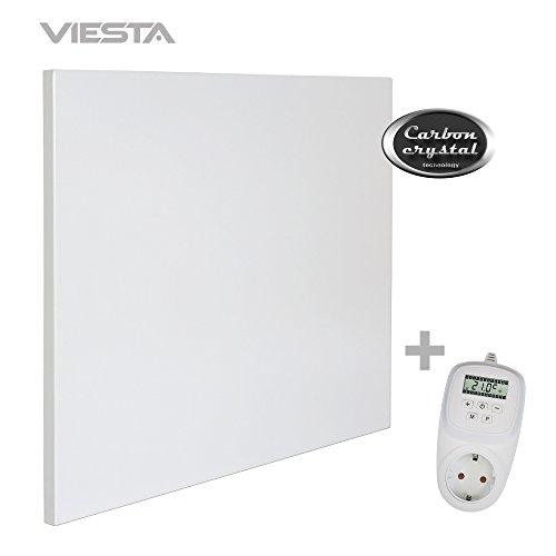 VIESTA H400 Panel Radiador de Infrarrojos Carbon Crystal (última tecnología) Calefacción...
