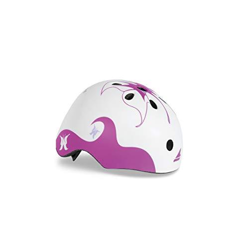 Rollerblade Mädchen Twist JR Helmet (CE) Inliner Helme, White/Violet, S