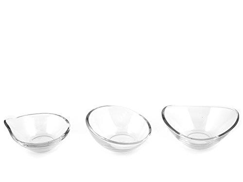 Pasabahce/L Aurora Set of 6/Glass Dessert Bowls 14/cm