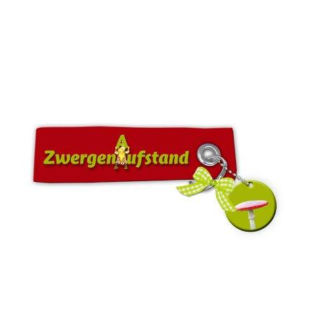 Schlüsselanhänger - Schlüsselbundanhänger - Zwergenaufstand - von Blümchen Ko