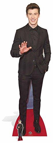 STAR CUTOUTS Shawn Mendes (cartón, Multicolor