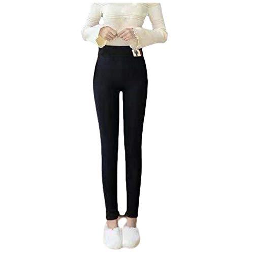 Snakell Leggings Térmicos Pantalones Mujer Invierno, Leggings de Cintura Alta para Mujer, Elásticos Forrado de Terciopelo Grueso Calientes Bragas Calientes Leggins Termicos Mujer